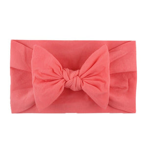 Baby Girl Headbands and Bows Classic Headwrap Soft Stretchy Nylon - Brands for Trends