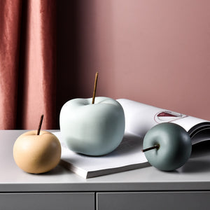 Ceramic Apple Tabletop Decor - Brands for Trends