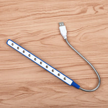 Load image into Gallery viewer, Flexible Iron Chain USB Led Light Table Night - Brands for Trends