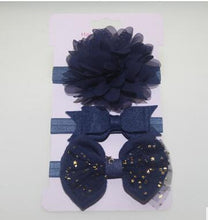 Load image into Gallery viewer, 3Pcs Baby Elastic flower headband Headbands Hair Girls - Brands for Trends