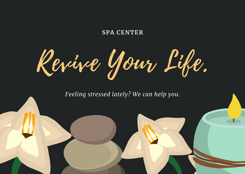 Destress at the Spa Revive your Life