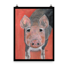 Load image into Gallery viewer, Savannah's Piglet Enhanced Matte Paper Poster