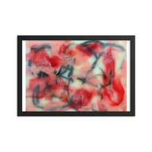 Load image into Gallery viewer, Encaustic # 1 Personalized Premium Luster Photo Paper Framed Poster