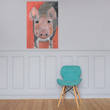 Load image into Gallery viewer, Savannah's Piglet Premium Luster Photo Paper Poster