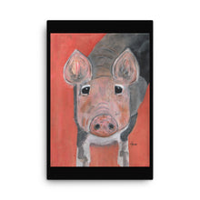 Load image into Gallery viewer, Savannah's Piglet Canvas
