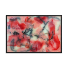Load image into Gallery viewer, Encaustic # 1 Personalized Enhanced Matte Paper Framed Poster
