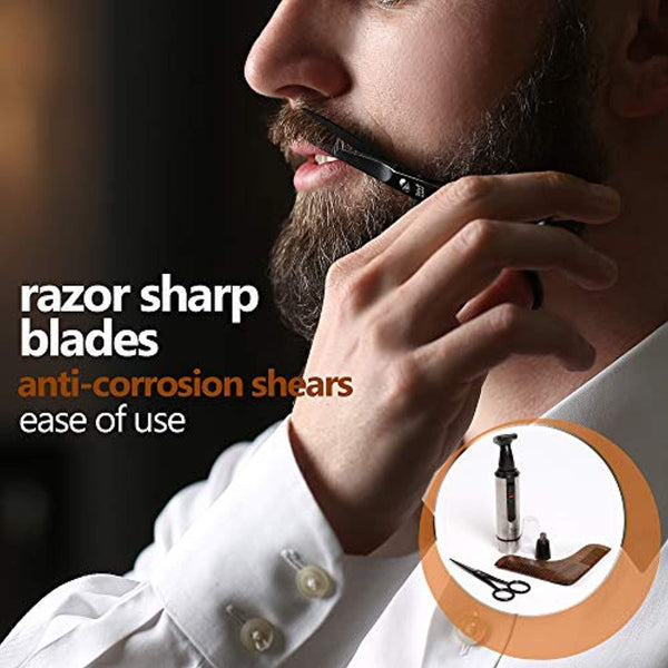 Haircare Beard Grooming and Trimming Set for Men