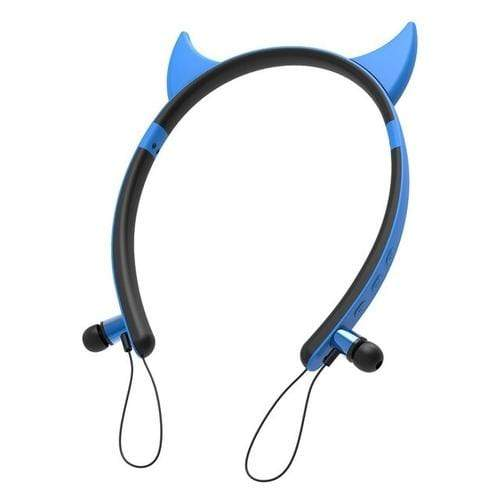wireless bluetooth earphones Cat Shape  LED Magnetic Stereo Wireless Bluetooth Earphone Headphone