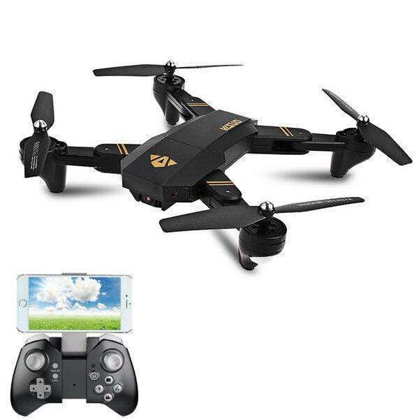 ElectronicX™ Foldable RC Drone With Wide Angle HD Camera & Baterries