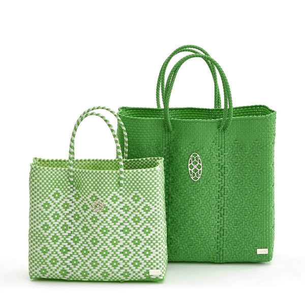 Bags & Wallets MEDIUM GREEN TOTE BAG