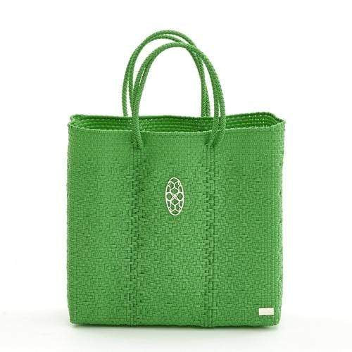 Bags & Wallets Long Strap MEDIUM GREEN TOTE BAG