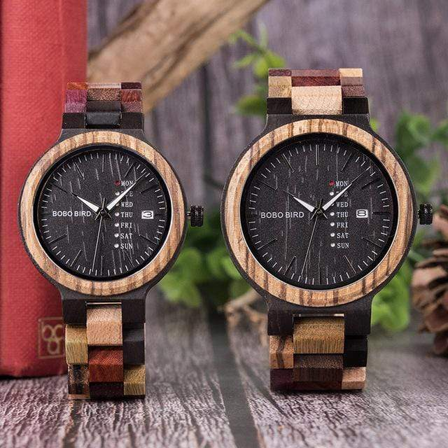 High Quality  Mens Bamboo Wood Watches For Every Occasion