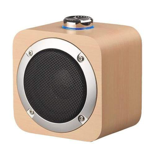 wireless speaker White / Other Portable Wireless Rechargeable  Wooden Bluetooth Speaker