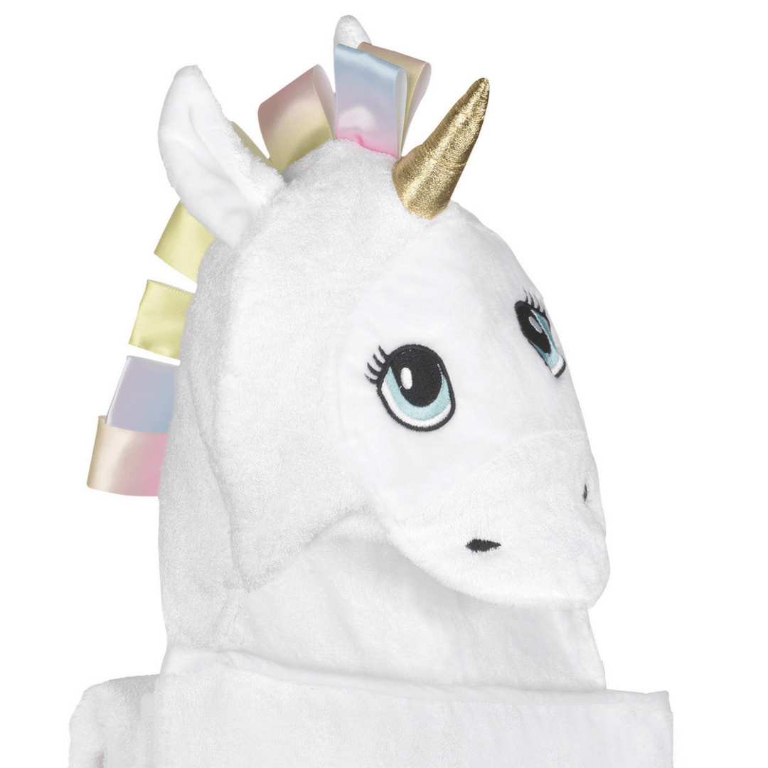 Soft Comfortable Unicorn Bamboo Baby Hooded Towel