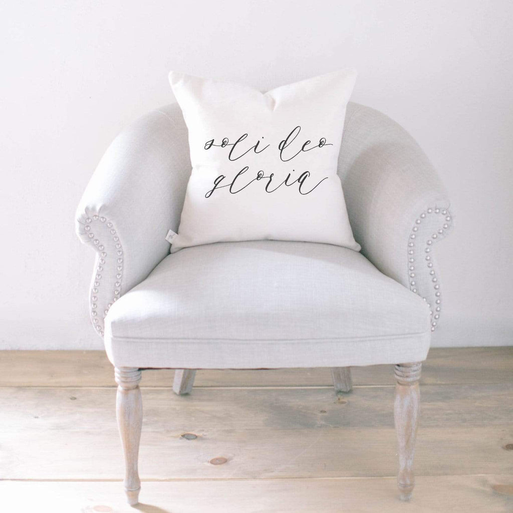 Home & Garden Soli Deo Gloria Pillow