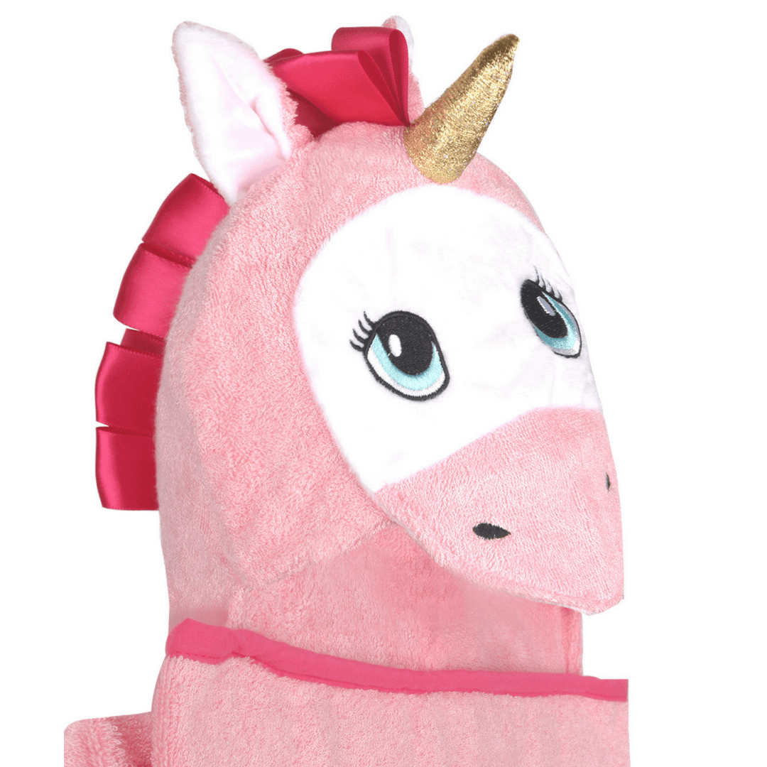 Unicorn Bamboo Baby Hooded Towel