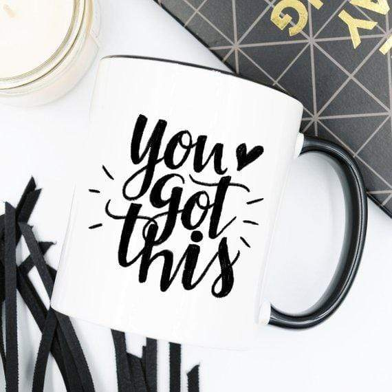 Kitchen You Got This Mug, Inspirational Coffee Mug, Funny