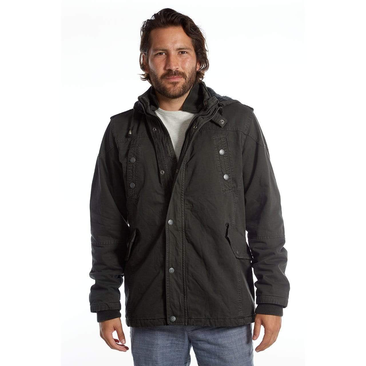 Durable Breathable Best Men's Cotton Jacket For Outdoor