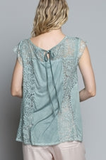 Load image into Gallery viewer, Under The Stars Lace Top - KaraMarie Boutique