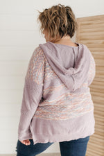 Load image into Gallery viewer, Too Soft To Handle Hooded Sweater in Lavender