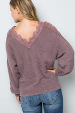 Load image into Gallery viewer, Cute And Cozy Crochet Sweater