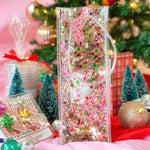 Load image into Gallery viewer, Holiday Cheer Confetti Wine Bag
