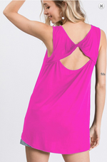 Load image into Gallery viewer, Solid Crossed Open Back Top Tank! Multiple Colors! - KaraMarie Boutique