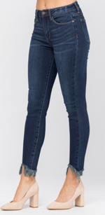 Load image into Gallery viewer, Living On The Edge Judy Blue Skinny Jeans