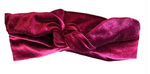 Load image into Gallery viewer, Velvet Infinity Twist Turban