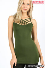 Load image into Gallery viewer, Summer Shades Criss Cross Camisole