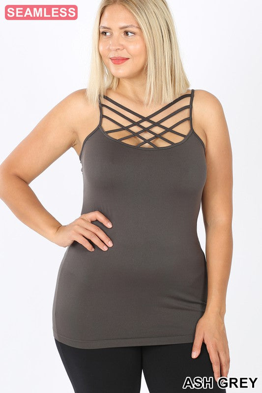 Summer Shades Criss Cross Camisole