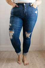 Load image into Gallery viewer, All About The Cuff Jeans