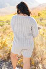 Load image into Gallery viewer, SAMPLE Camila Cable Knit Sweater