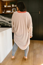 Load image into Gallery viewer, Cozy Cardi In Taupe
