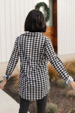 Load image into Gallery viewer, Gingham Girl Button Down Top