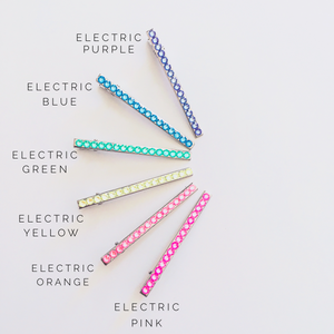ITS ELECTRIC! Thin Hair Clip - KaraMarie Exclusive! Multiple Colors! - KaraMarie Boutique