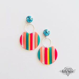 Neon Dreams Drop Earrings - KaraMarie Boutique