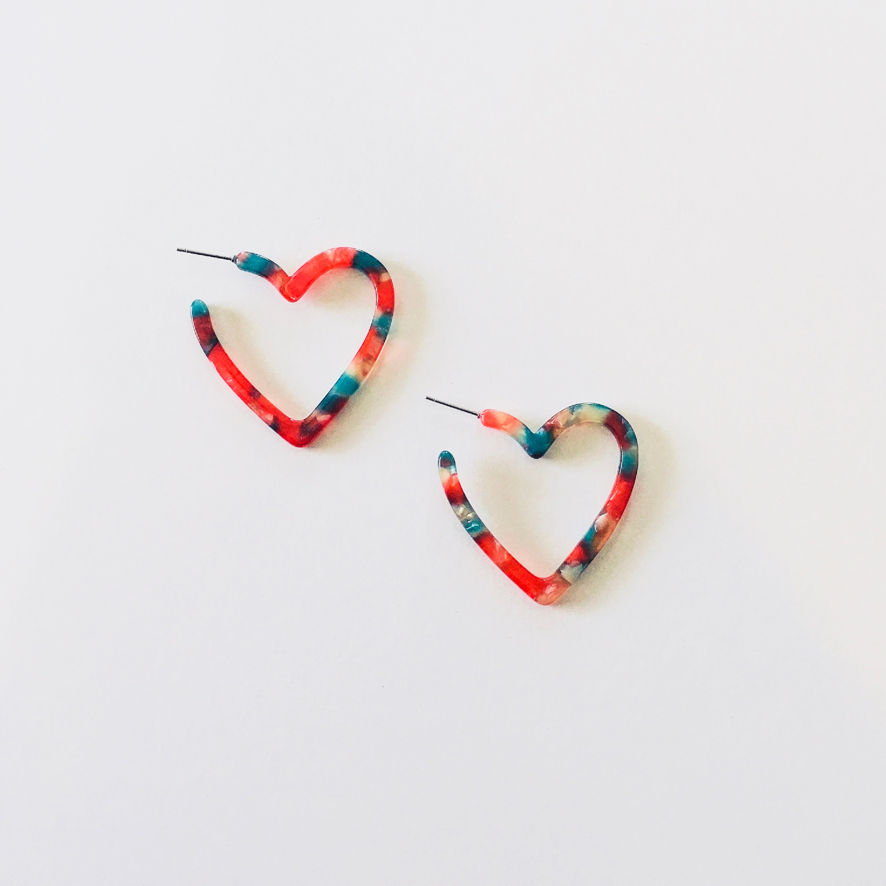 Heart Hoop Earring - KaraMarie Boutique