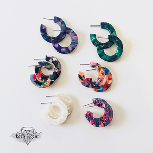 Hoop Earring - Small - Multiple Colors! - KaraMarie Boutique
