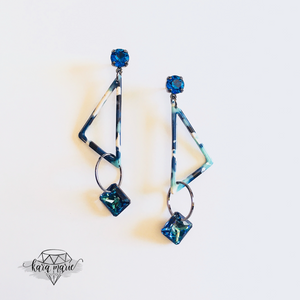 Bermuda Triangle Earrings - KaraMarie Boutique