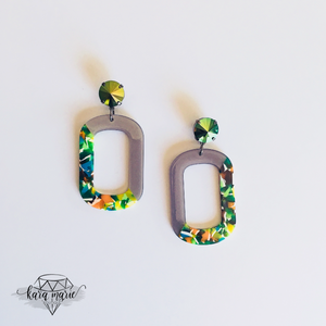 Green Glow Earrings! - KaraMarie Boutique