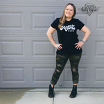 Load image into Gallery viewer, Bad Moms Club Graphic Tee - KaraMarie Boutique