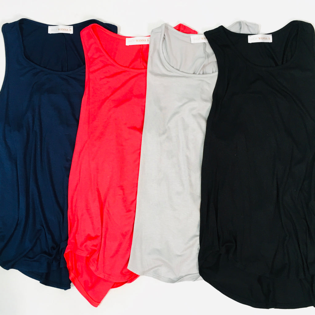 Criss Cross Tank! Multiple Colors! - KaraMarie Boutique