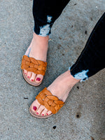Load image into Gallery viewer, Woven Open Toe Sandals - KaraMarie Boutique