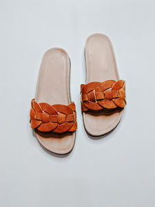 Woven Open Toe Sandals - KaraMarie Boutique