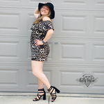 Load image into Gallery viewer, Leopard Ruffle Romper - KaraMarie Boutique