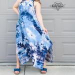Load image into Gallery viewer, Ocean Dreams Tie Dye Sleeveless Dress! Multiple Colors! - KaraMarie Boutique