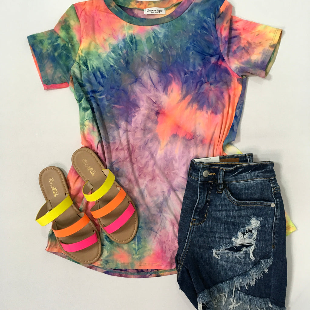 Buttery Soft Tie Dye Tunic - KaraMarie Boutique