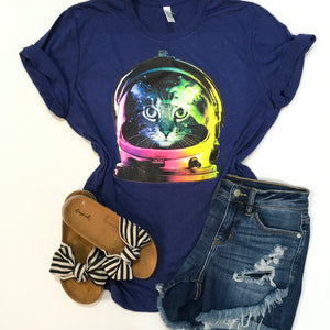Space Cat Graphic Tee