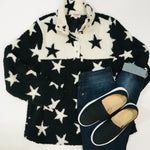 Load image into Gallery viewer, Star Gazer Sherpa Pullover